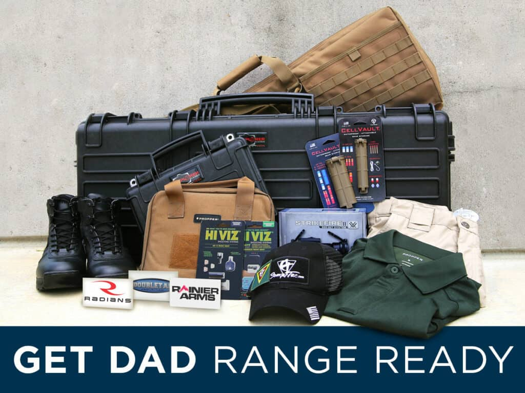 Fathers Day Giveaway - Get Dad Range Ready