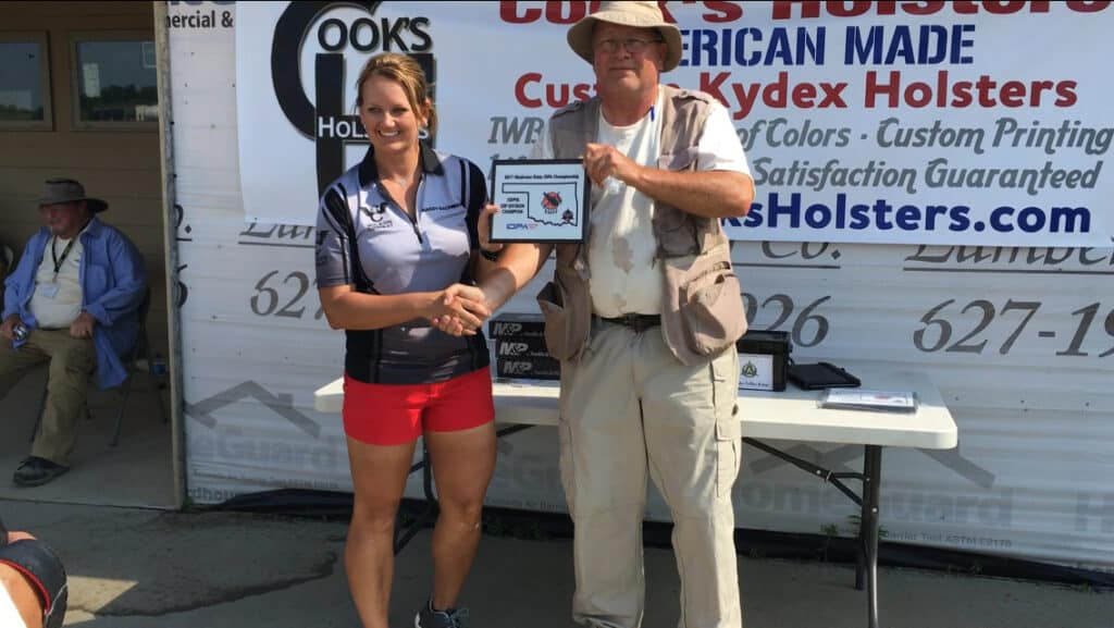 Mandy Bachman won ESP Division Champion