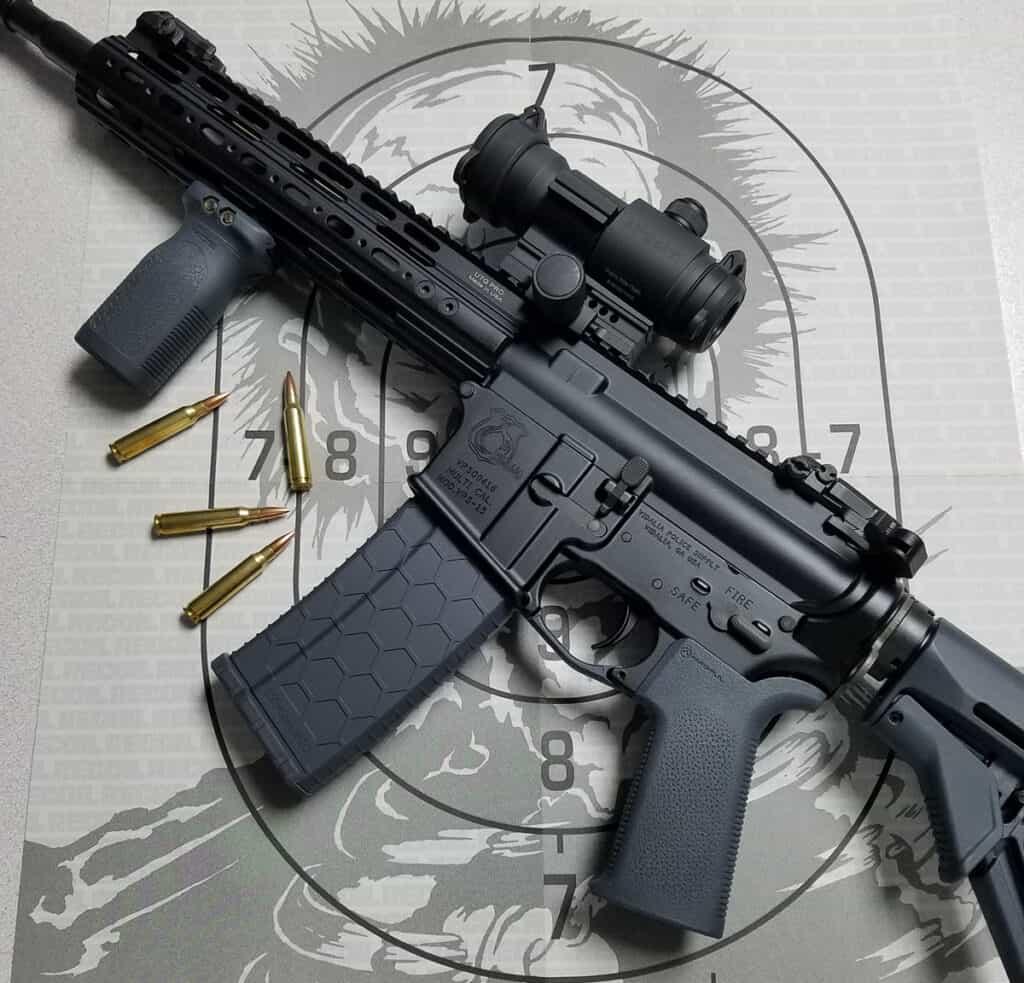 AR-15 with ArmaDynamics ADF-MKII Charging Handle