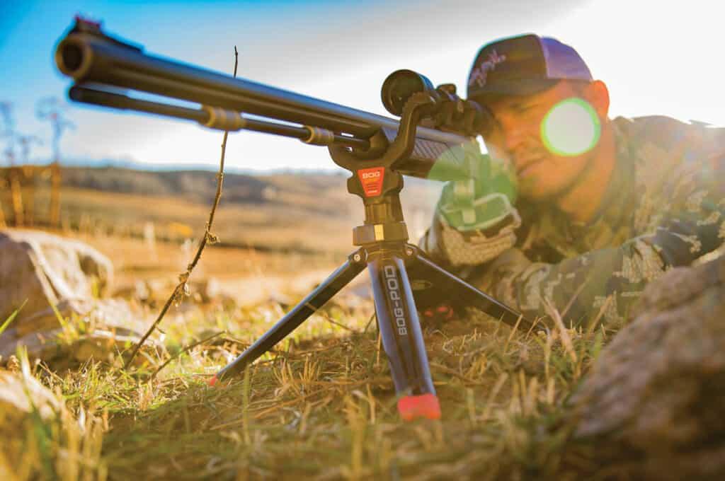 Bog-Pod Rapid Shooting Rest