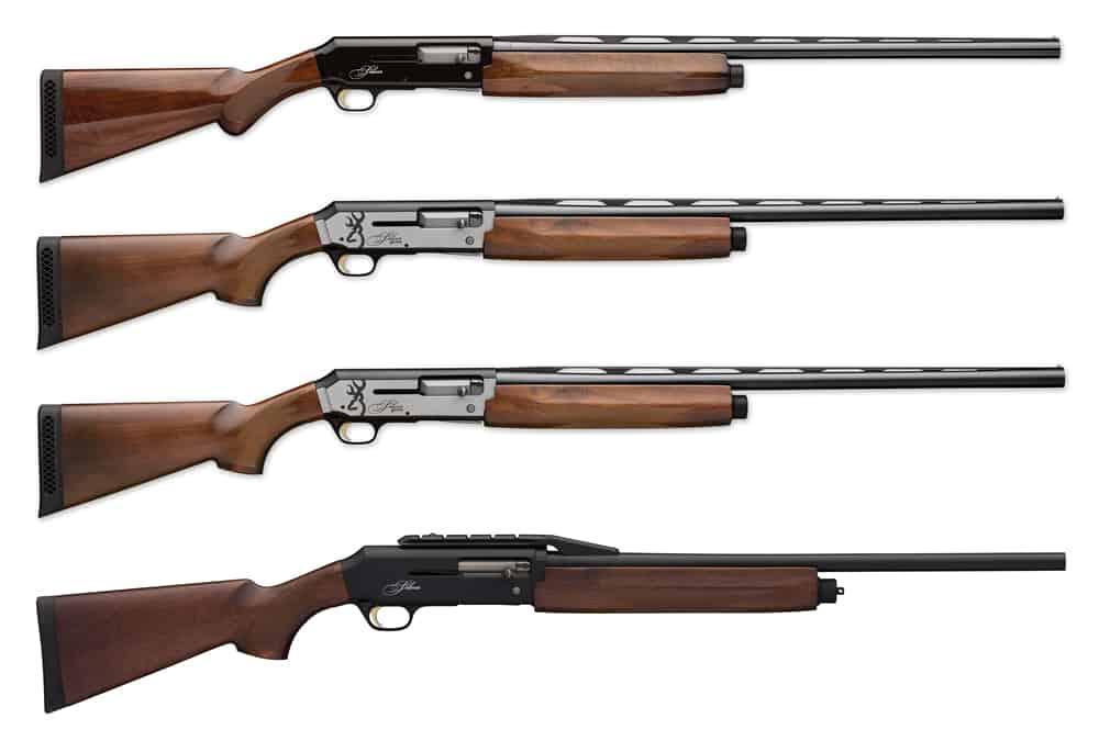 Browning Silver Semi-Automatic Shotguns