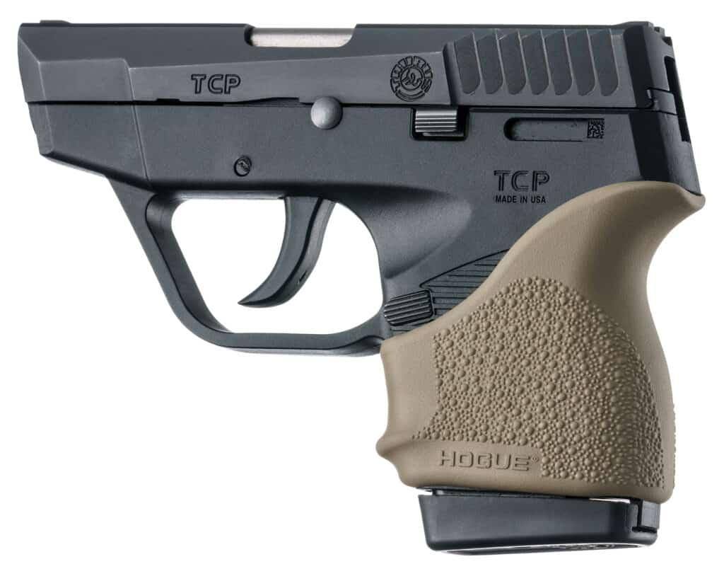 Hogue Beavertail HandALL Grip Sleeve on Taurus TCP
