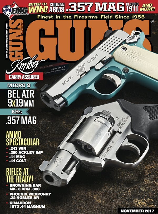 GUNS Magazine - November 2017