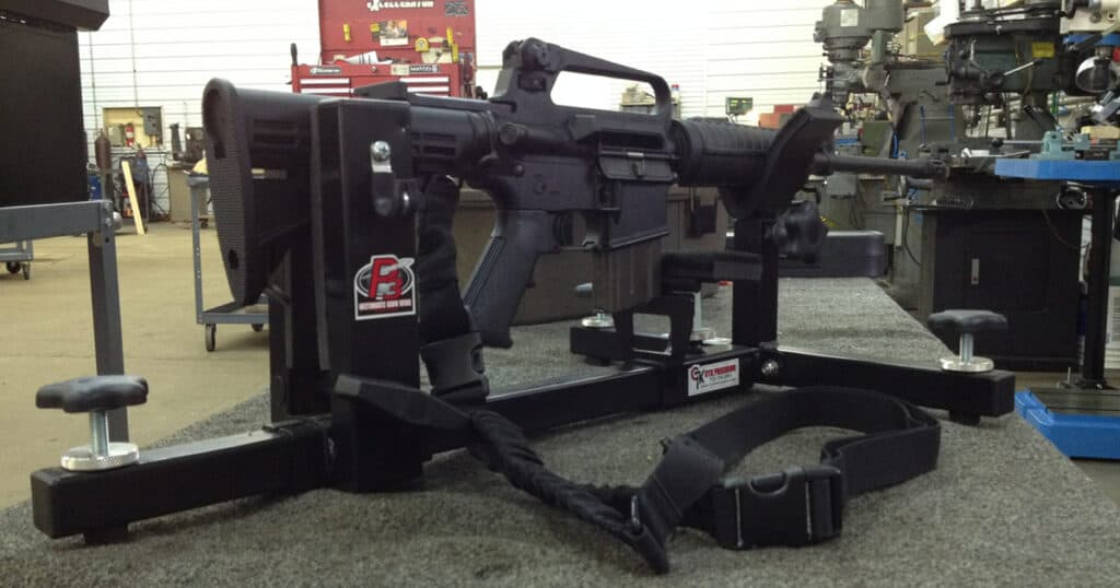 CTK Precision P3 Ultimate Gun Vise and Shooting Rest