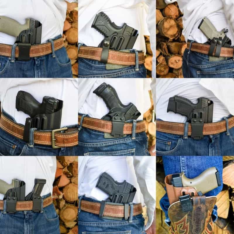 Harrys Holsters Inside the Waistband Holsters