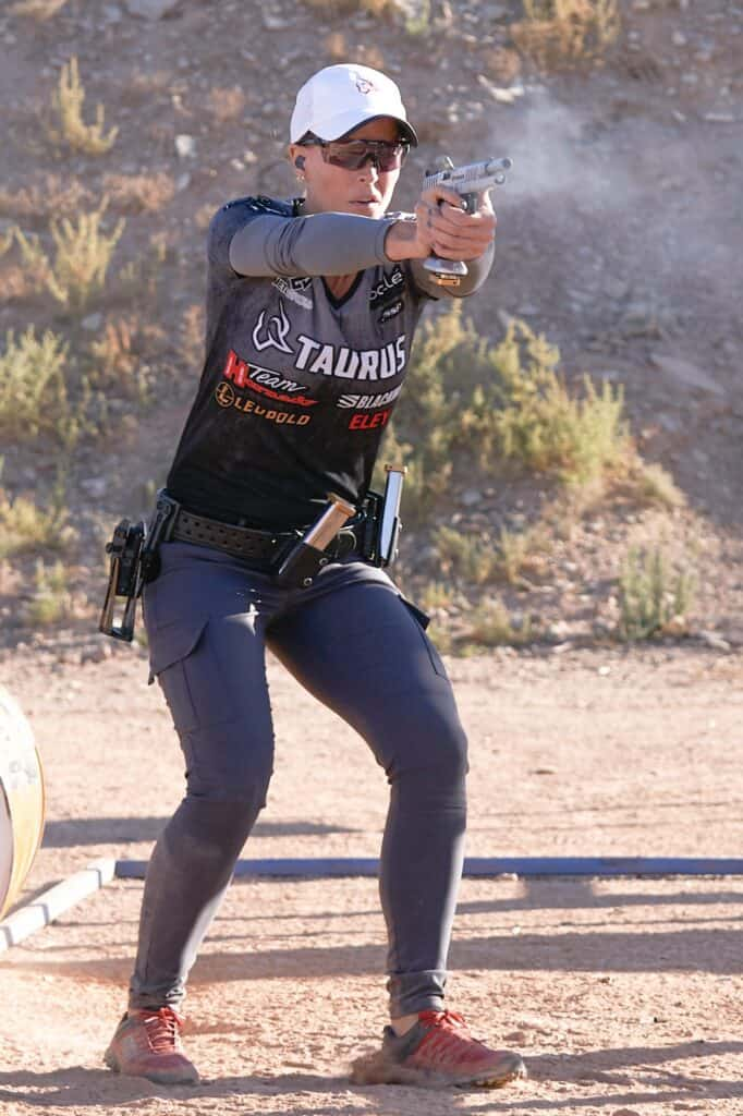 Jessie Harrison-Duff at USPSA Ladies National