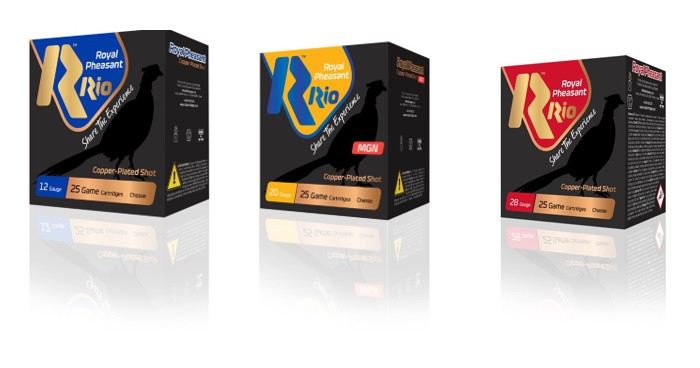 Rio Ammunition Royal Pheasant Copper