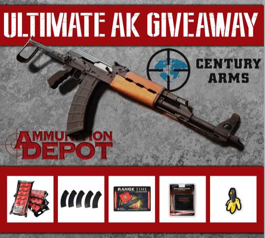 AK Rifle Giveaway - Win a N-PAP DF underfolder AK-47 rifle