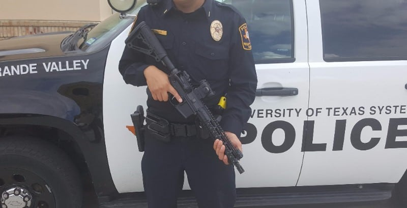 Battle Rifle Company BR4 Diablo Short-barrel Rifles - UTRGV Police SRT