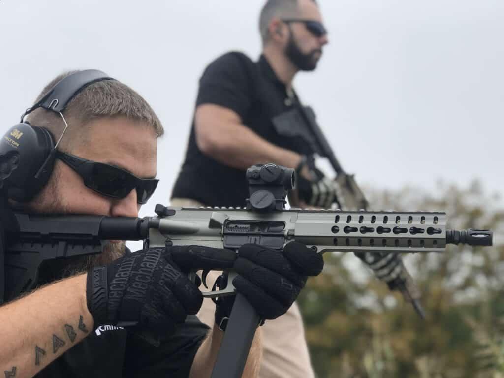 CMMG MkGs GUARD 9mm AR-15 Carbine