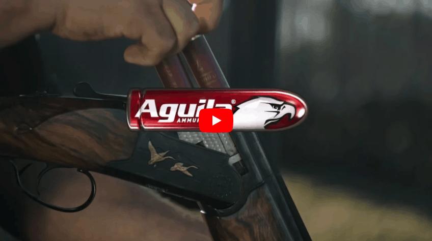 Aguila Ammunition Guns Are Hungry TV Spot Awarded Gold Award