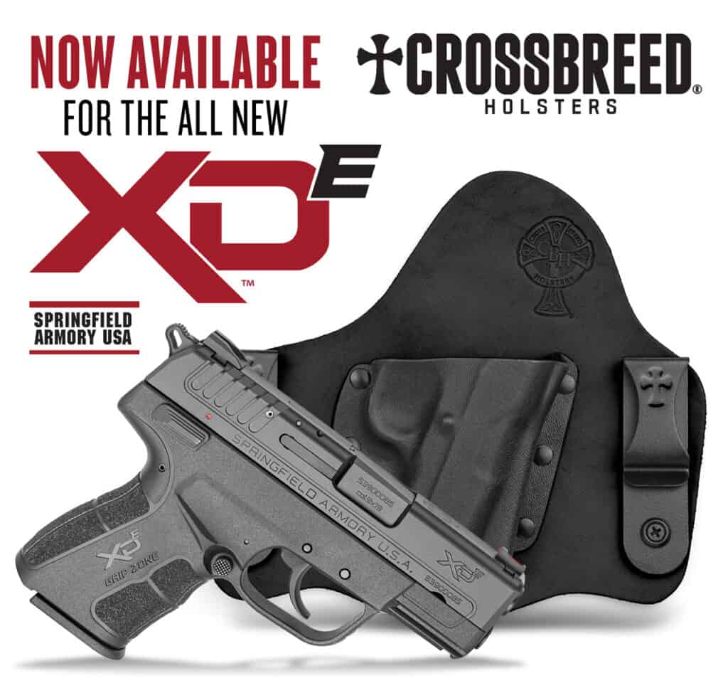 CrossBreed Holsters for Springfield X-DE 45