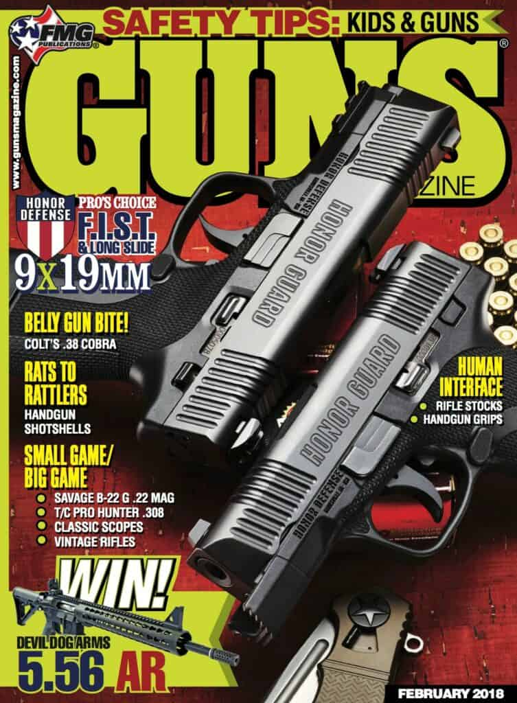 Honor Defense Honor Guard 9mm Striker-fired Pistol in GUNS Magazine