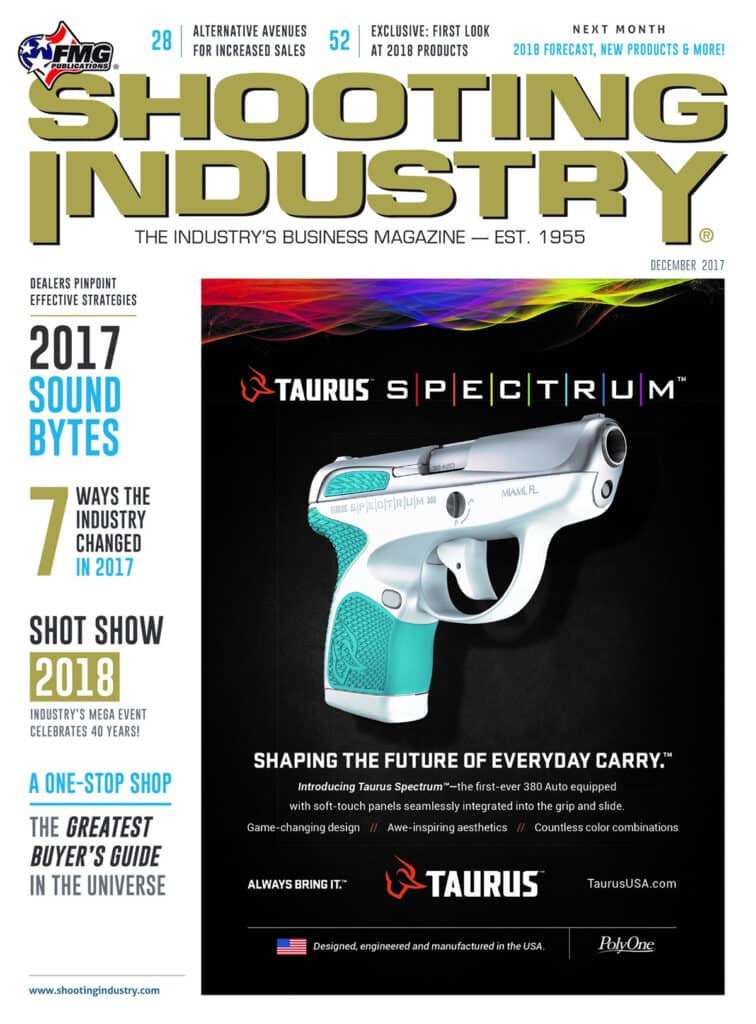 SHOT Show Preview & 2018 Buyer's Guide in Shooting Industry Magazine