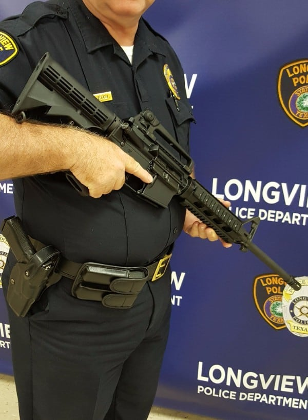 Battle Rifle BR4 Trooper Selected by Longview PD