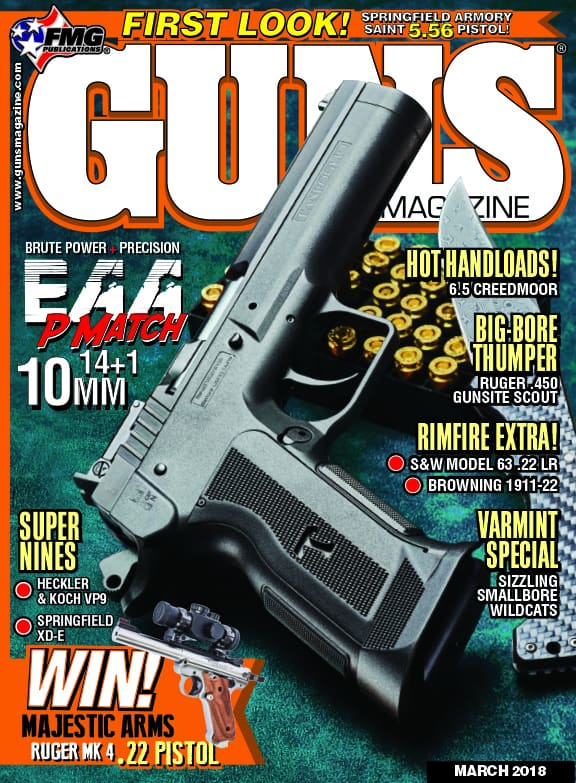 EAA Witness P Match 10mm Pistol in GUNS Magazine