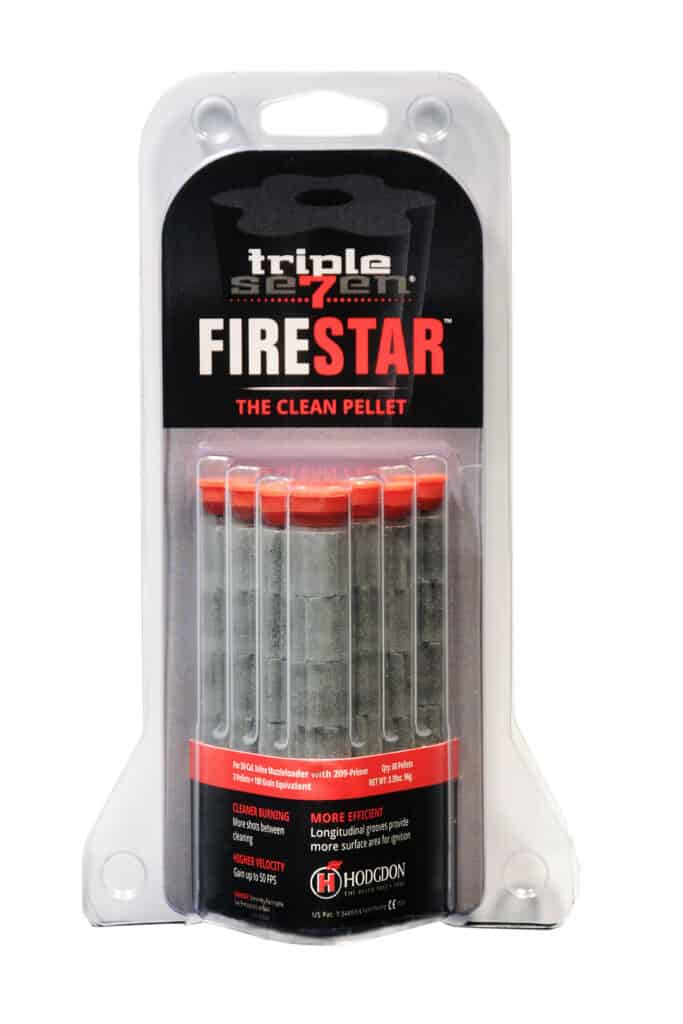 Hodgdon Triple Seven FireStar Pellet Package