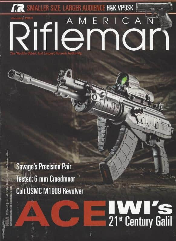 IWI Galil ACE Featured in American Rifleman