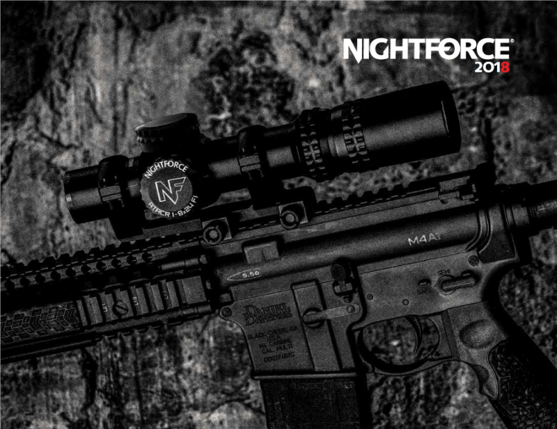 Nightforce Optics Exhibiting New Precision Optics and Reticles at SHOT Show