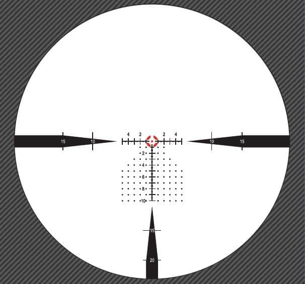 Nightforce Optics FC-DM Reticle