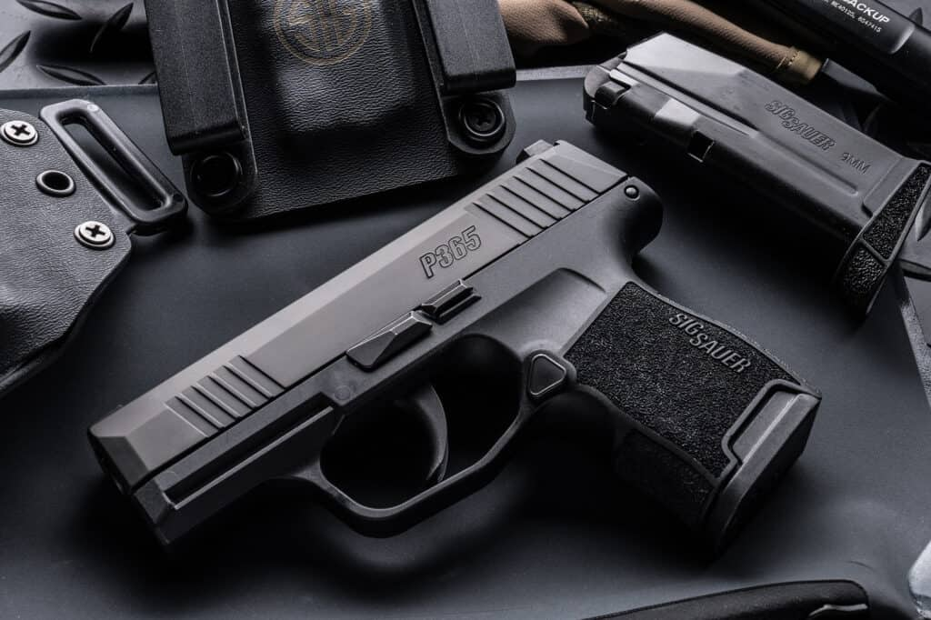SIG SAUER P365 - High-Capacity Concealed Carry Pistol
