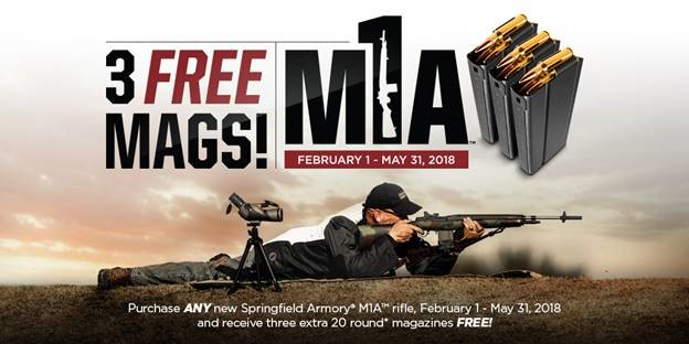 Springfield Armory M1A Gear Up Promotion
