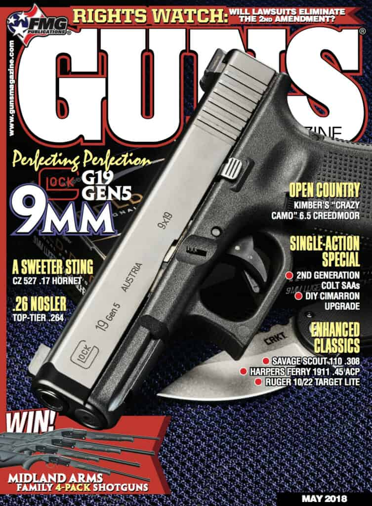GLOCK 19 Gen5 Featured in GUNS Magazine