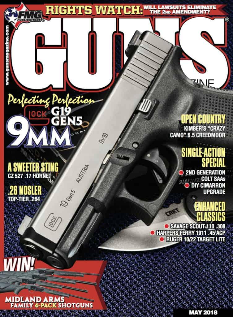 GLOCK 19 Gen5 Featured in GUNS Magazine