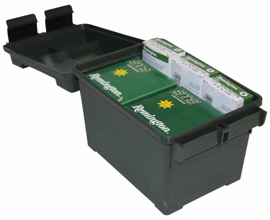 MTM CASE-GARD 45 Cal Ammo Can - Open