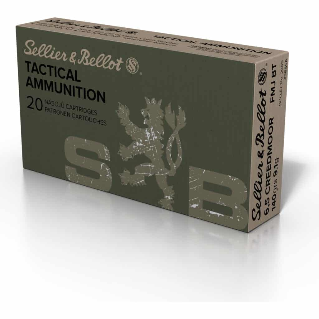 Sellier & Bellot 6 5 Creedmoor Ammo