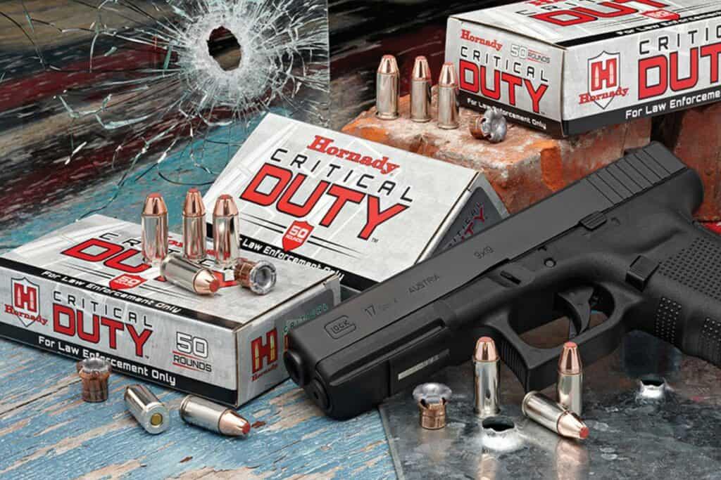 Hornady 9mm+P Luger 135 gr FlexLock Critical Duty Ammunition