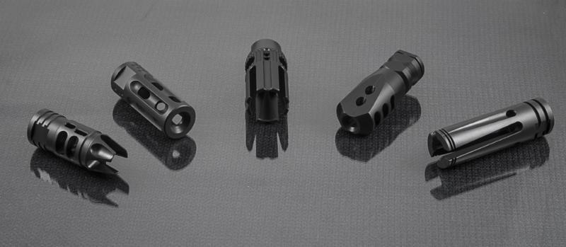 Mission First Tactical MFT Muzzle Devices - Muzzle Brakes, Compensators, Flash Hiders