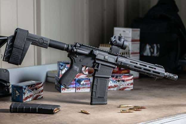 Springfield Armory SAINT Pistol in 300 BLK