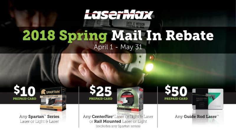 LaserMax Rebate