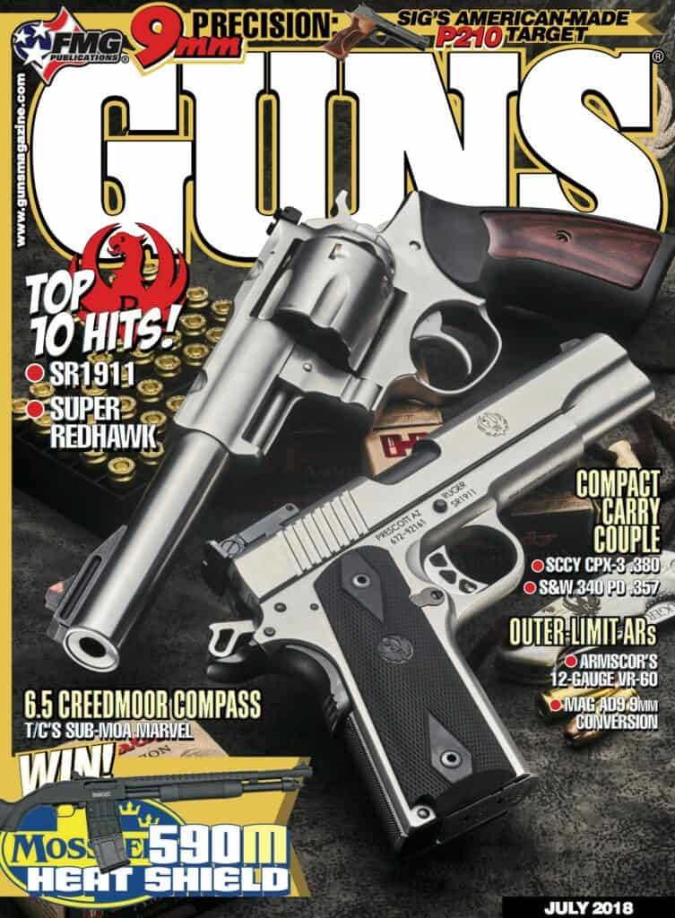 Ruger SR1911 & Super Redhawk in GUNS Magazine
