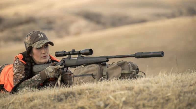 Silent Legion Suppressor on Rifle