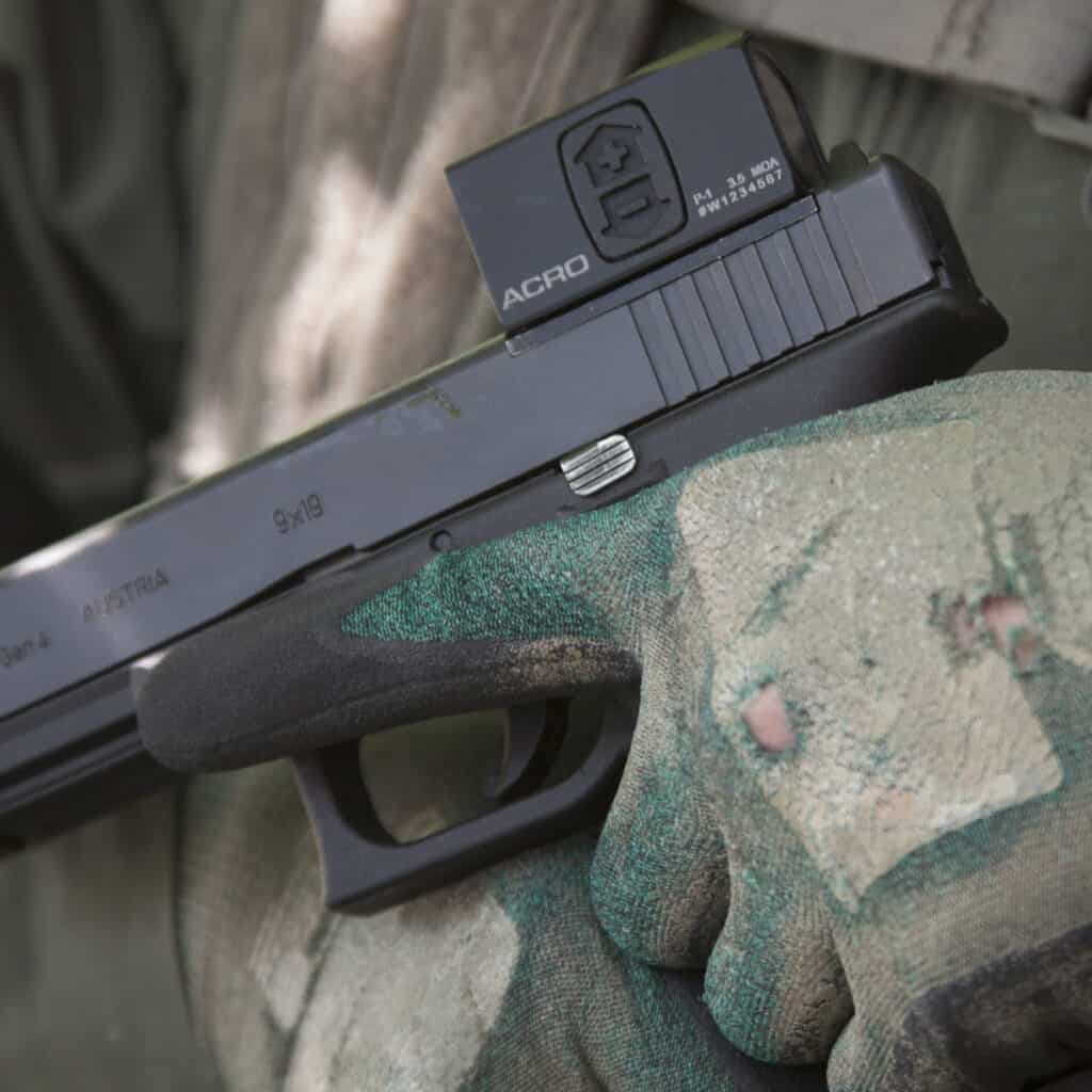 Aimpoint ACRO on Glock
