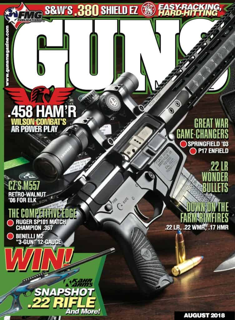 Wilson Combat 458 HAM'R Big-Bore AR Featured in GUNS Magazine