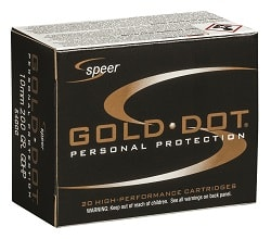 Speer Ammunition Gold Dot