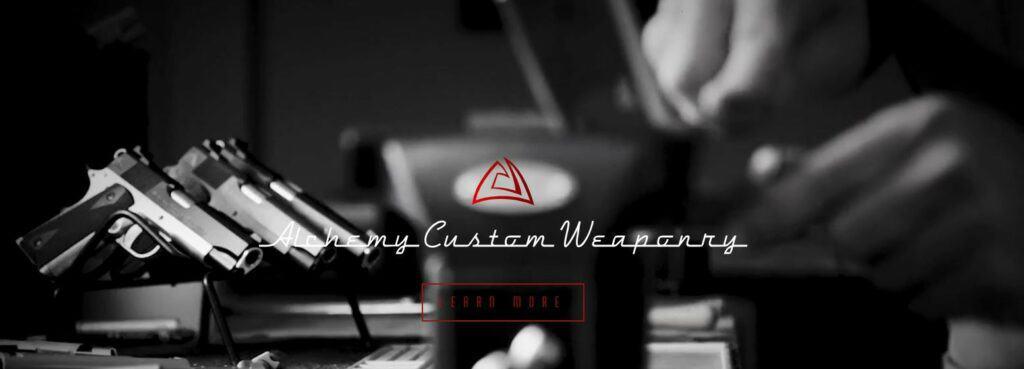 Alchemy Custom Weaponry Partners with Blue August