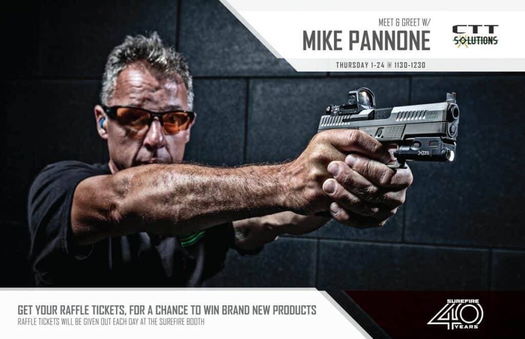 Mike Pannone SHOT Show