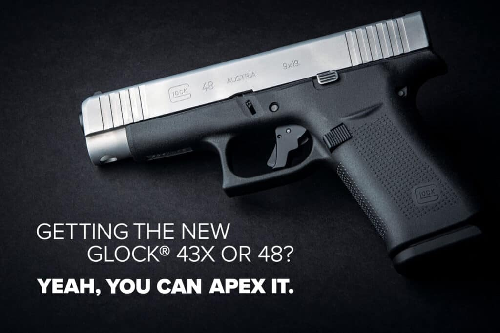 Apex Glock 43X and Glock 48 Triggers