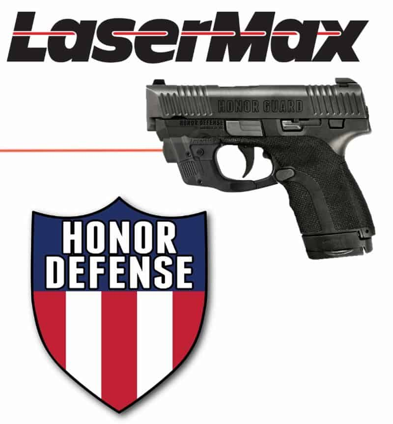 Honor Guard Pistol with LaserMax CenterFire Laser