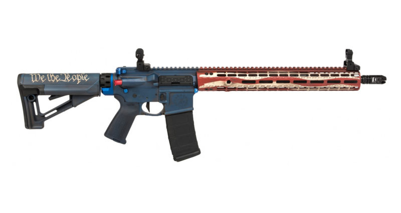 Aero Precision AR-15 Rifle with Cerakote Finish by Blowndeadline Custom Cerakote