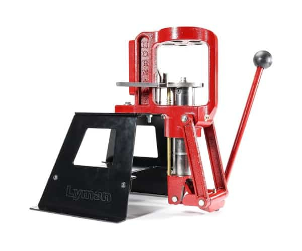 Lyman Universal Press Stand with Hornady Reloading Press