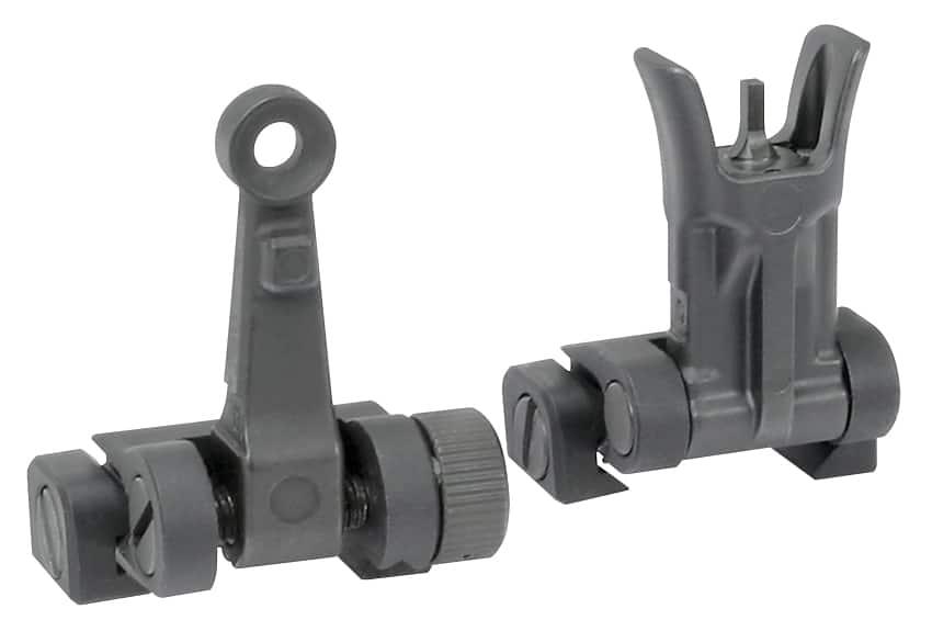 Midwest Industries Backup Iron Sights - Combat Rifle Sight Set