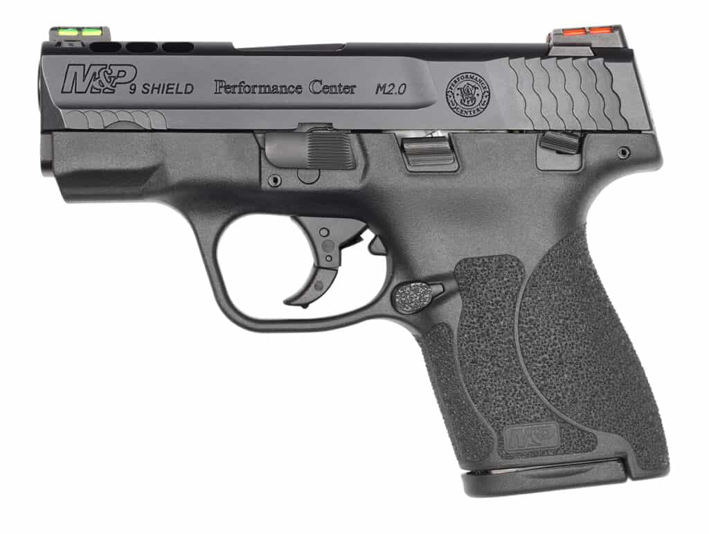 Smith & Wesson Ported M&P Shield M2 0
