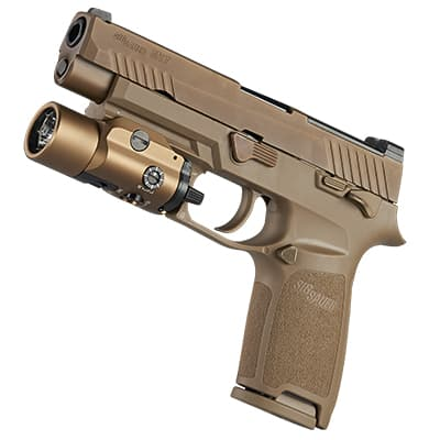 Streamlight TLR-VIR II on Sig Sauer M17