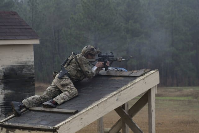 USASOC Sniper Competition