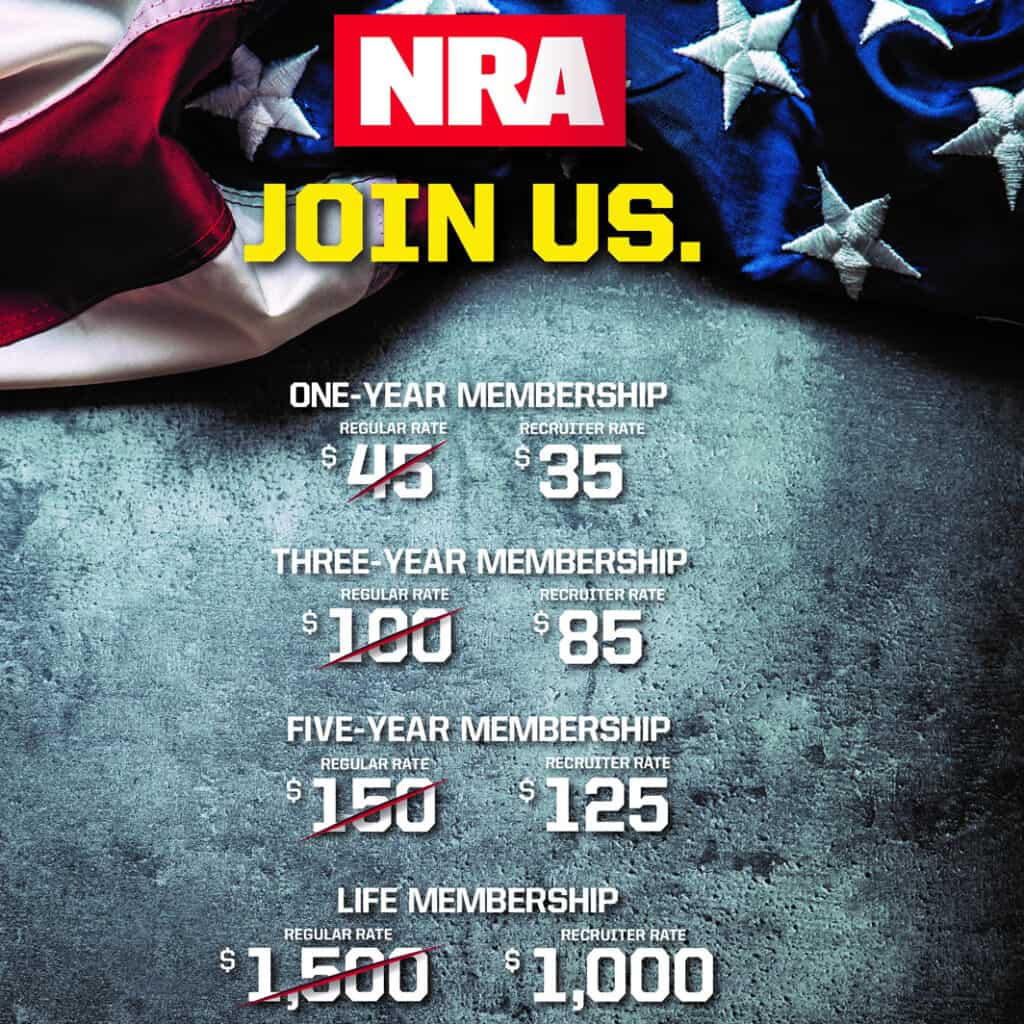 Join the NRA at a Discounted Rate